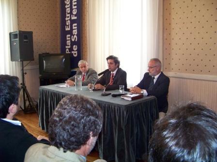 Reunión en San Fernando con el Director Provincial de Salud Mental