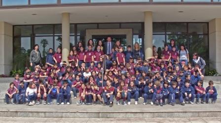 Alumnos del Colegio Parroquial San Marcelo visitaron el HCD de Tigre.
