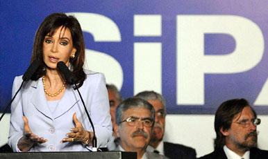 El gobierno estatizo los aportes jubila torios y Cristina pidió apoyo a partidos de oposición