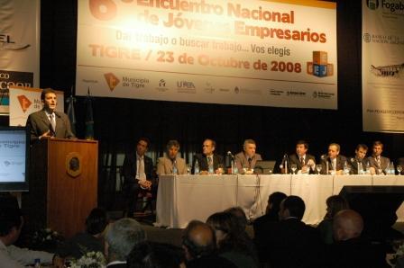 Se realizó en Tigre el Sexto Encuentro Nacional de Jóvenes Emprendedores