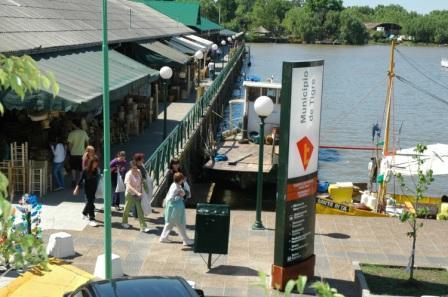Los fines de semana el Puerto de Frutos de Tigre es peatonal