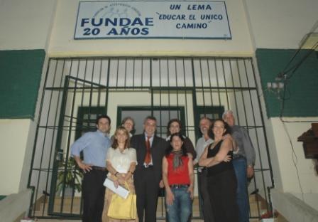 Julio Zamora y Malena Massa se reunieron con representantes de FUNDAE