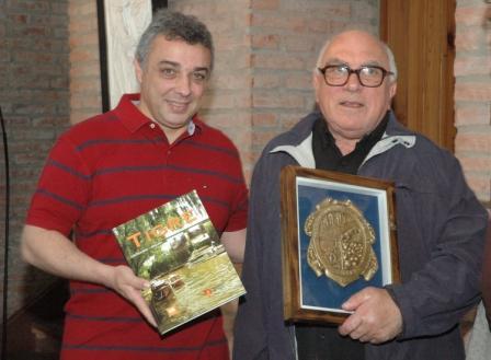 Zamora abrió la muestra homenaje a Edel Torrielli
