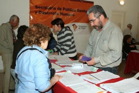 Primera etapa de entrega de la Tarjeta Social en Tigre