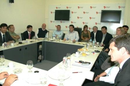 Massa y Zamora compartieron los avances del programa de gobierno
