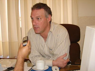 presidente del bloque de concejales de la Unión Cívica Radical de Vicente López, Fabián Gnoffo
