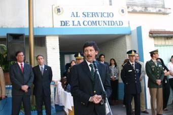 El intendente de San Isidro, Dr. Gustavo Posse, presidió esta tarde el acto central de la Semana de la Policía Federal Argentina