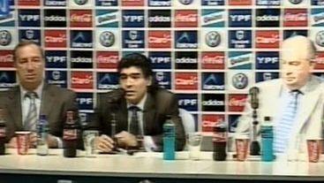 Asimió Maradona