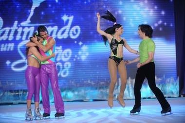 Santiago Almeida fue eliminado de Patinando por un sueño