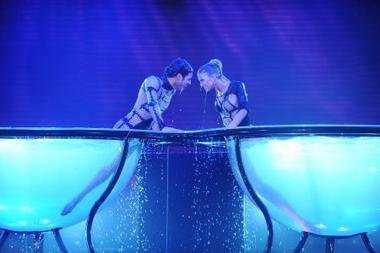 El Aquadance debutó en Bailando por un sueño