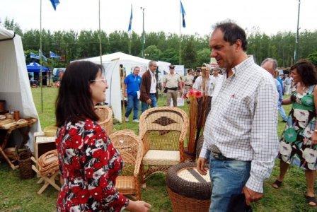 Scioli apuesta a duplicar la producción forestal