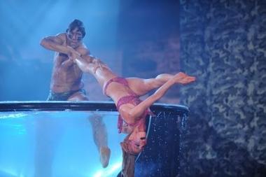 Matías Alé y Gisela Bernal quedaron eliminados de Bailando por un sueño.