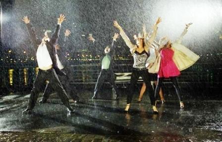 ShowMatch estrenó el espectacular Bailando bajo la lluvia