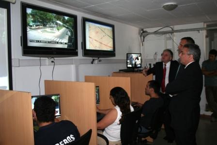 El Intendente de Comodoro Rivadavia visitó el Centro de Operaciones Tigre