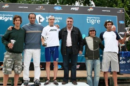Gran convocatoria en el Triatlón Copa Argentina Tigre 2008