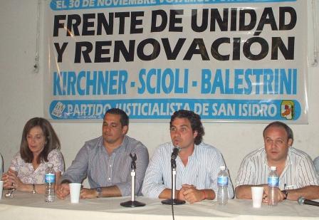 Acto y Presentación del Frente de Unidad y Renovación – Lista 17 en San Isidro