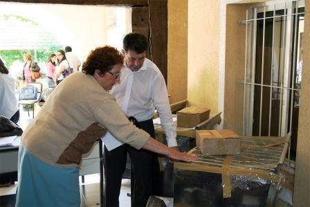 El Consejo Escolar recibió nuevo equipamiento para las cocinas de las escuelas de Tigre