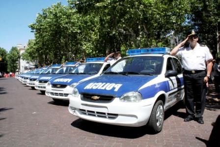 Trece nuevos móviles policiales para San Fernando