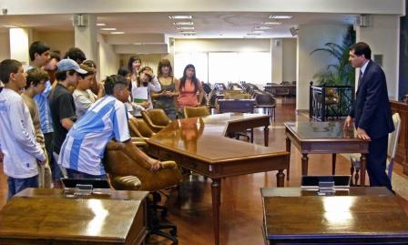 La SB Nº 9 visitó el Honorable Concejo Deliberante de Tigre