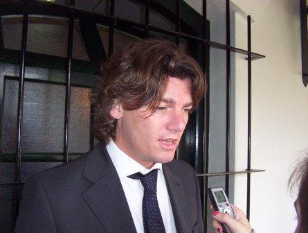 El Coordinador Ejecutivo para el Desarrollo Sostenible del OPDS, Nicolás Scioli