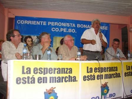 Acto de la COPEBO en San Fernando