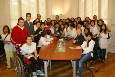 Alumnos de la Escuela Nº 14 visitaron el Palacio Municipal