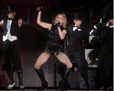 Con un vibrante show Madonna abrió su serie de conciertos en el monumental