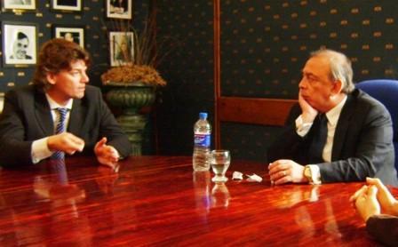 Nicolás Scioli, Coordinador Ejecutivo del Organismo Provincial para el Desarrollo Sostenible (OPDS), mantuvo reuniones en cada una de las localidades con los Intendentes de Pilar, Humberto Zúccaro