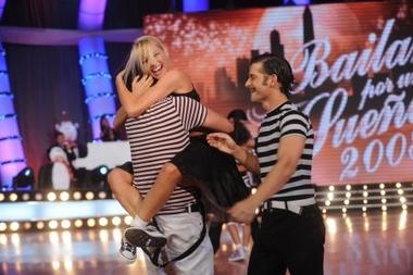 Pampita es la primera finalista de Bailando por un sueño