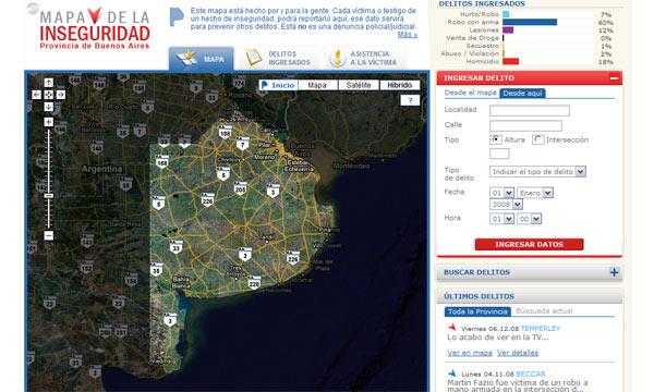 Un Mapa de la inseguridad busca prevenir el delito en la provincia de Buenos Aires