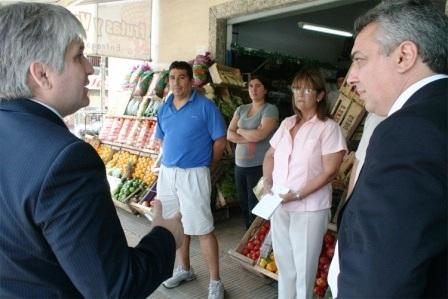 Zamora y el Secretario de Protección Ciudadana recorrieron Troncos del Talar