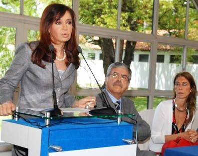 Visita histórica de la presidenta Cristina Kirchner al Delta de San Fernando