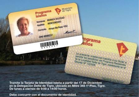 Nueva Tarjeta de Identidad Isleña