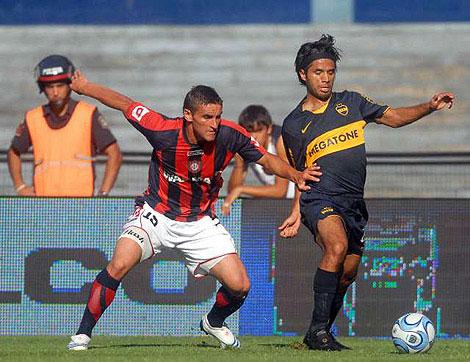 Boca le gano a San Lorenzo 3-1 y quedo a un paso del titulo