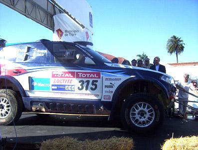 El Rally Dakar comenzó en Tigre