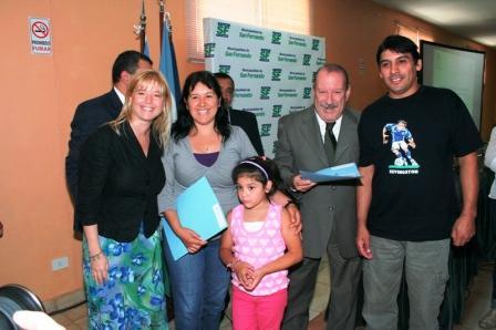 Nuevas obras y entrega de viviendas para el mejoramiento de barrios en San Fernando