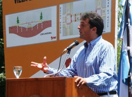 El Jefe de Gabinete anunció el Plan de Obras 2009 para Tigre que permitirá generar durante todo el año más de 30.000 puestos de trabajo