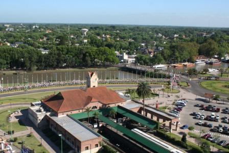 Panorámica de la estación de Tigre