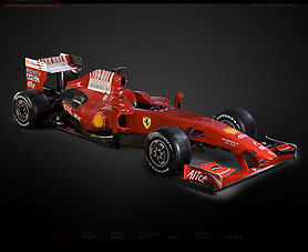 Ferrari su nuevo auto para la Fórmula 1