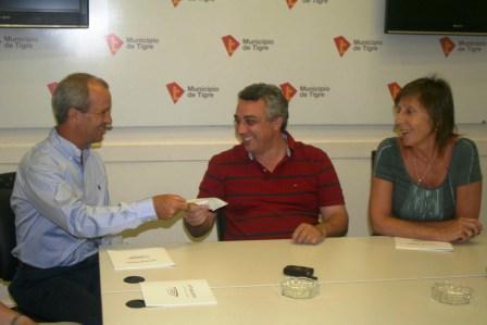 La cooperadora del Hospital Municipal de Tigre recibió una donación