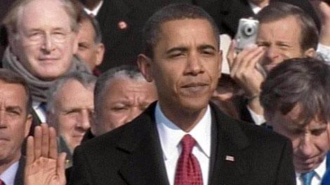 Barack Obama juró como presidente de los Estados Unidos
