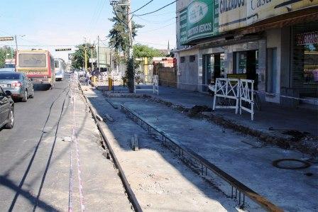 Comenzó la remodelación del Centro Comercial de Rincón de Milberg
