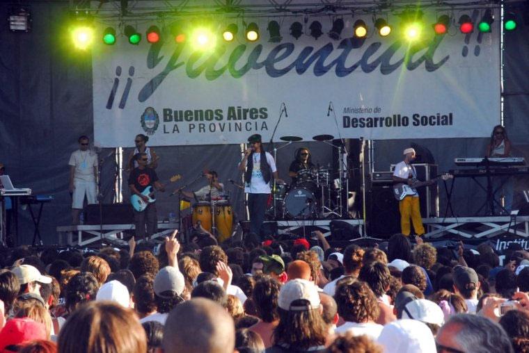 Non Palidece tocó en Santa Teresita ante 5 mil espectadores
