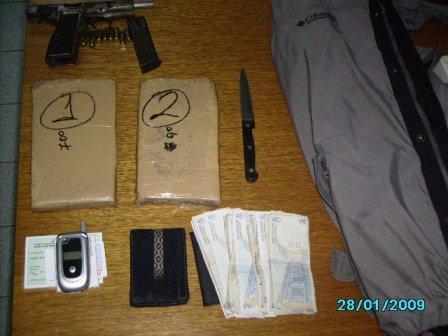 Cayó narco en Tigre Centro