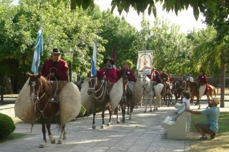 La cabalgata a San Lorenzo, pasó por Tigre