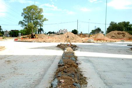 Comenzaron las obras del nuevo acceso a Tigre.
