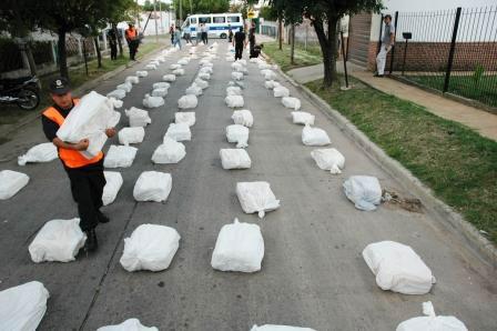Secuestro histórico de drogas en La Plata