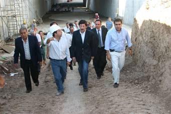 Posse estimo que el túnel de Boulogne podría ser inaugurado en junio