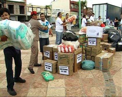 Tigre recolectó 25 toneladas de donaciones para Tartagal