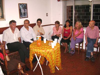 Gnoffo se reunió con vecinos de La Loma de Roca.